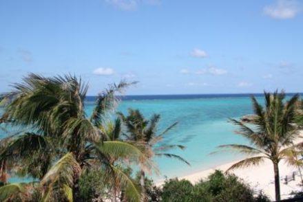 Voyage de noces Japon Okinawa mer turquoise