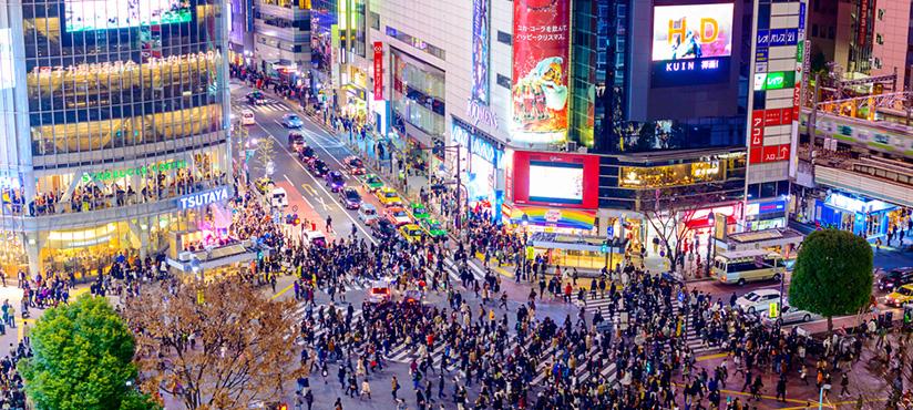 Voyage au Japon, Séjour à Tokyo