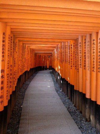 Fushimi Inari et ses tunnels de torii