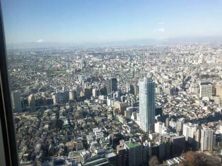 Séjour vacances à Tokyo, vue panoramique