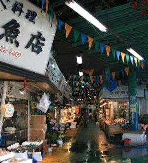 Voyage au Japon, Visiter le fameux marché aux poissons Tsukiji de Tokyo