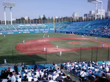 Voyage découverte du japon, assister à un tournoi de baseball japonais