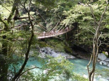 Voyage séjour au japon, Shikoku Iya kazurabashi