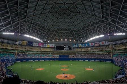 circuit-sejour-japon-voyage-baseball-tokyo dome-route du japon